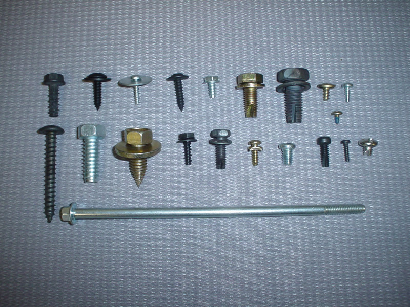 Cold HeadedSMS, Hi-Lo, Tri-Rounds & Thread Cutting Screws