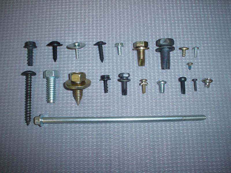 Cold HeadedSMS, Hi-Lo, Tri-Rounds & Thread Cutting Screws