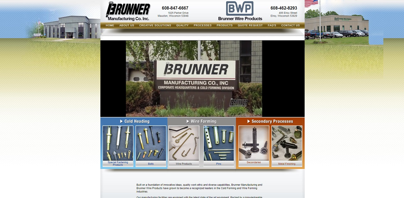 Brunner Manufacturing Co., Inc.