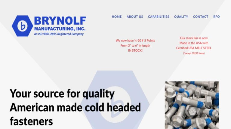 Brynolf Manufacturing Inc.