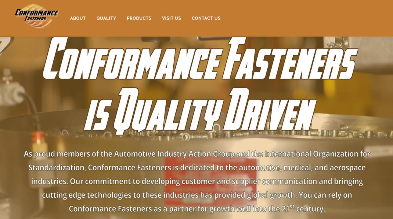 Conformance Fasteners & Assembly Products
