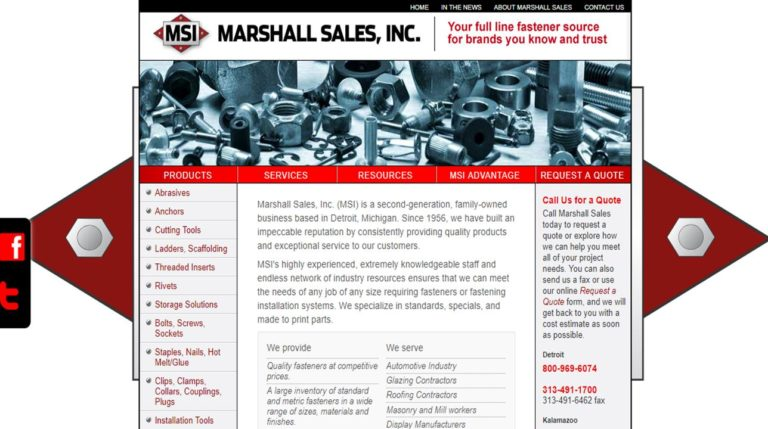 Marshall Sales, Inc.