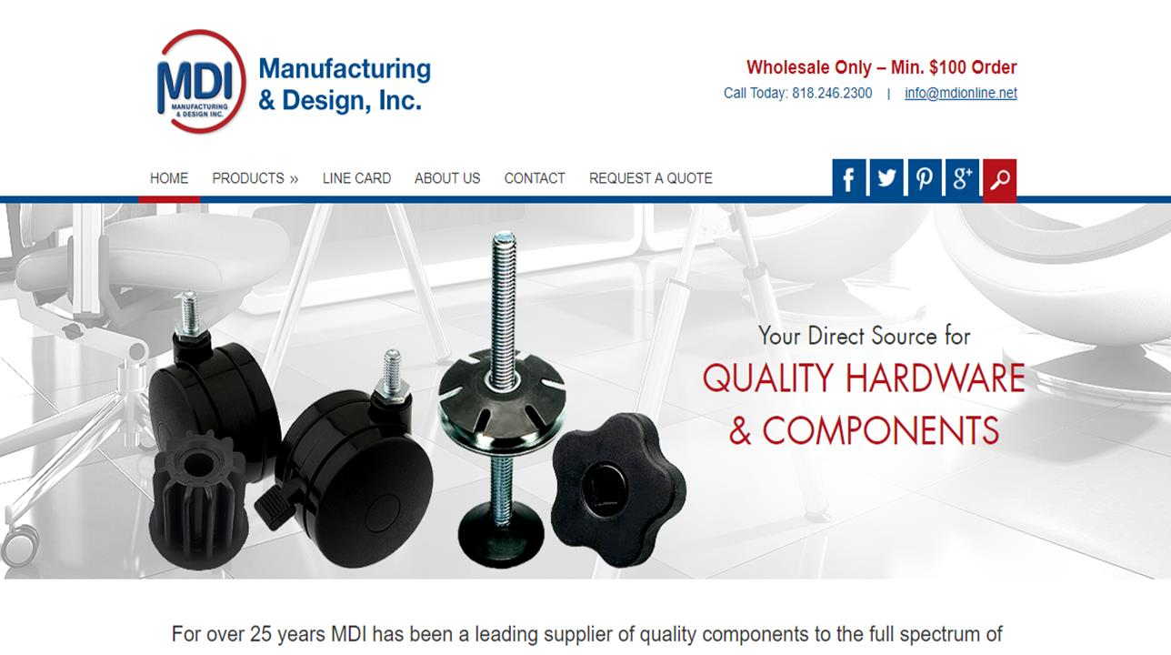 MDI Manufacturing & Design, Inc.