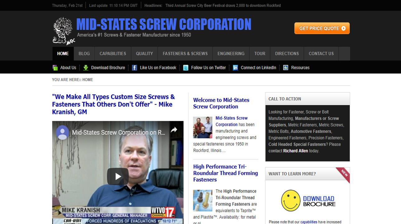 Mid-States Screw Corp.