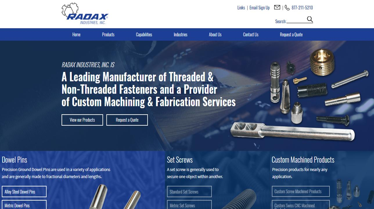 Radax Industries, Inc