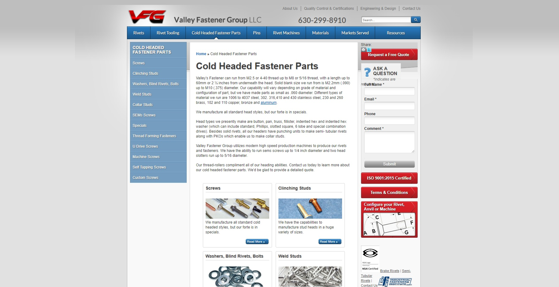 Valley Fastener Group, LLC