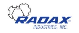 Radax Industries, Inc Logo